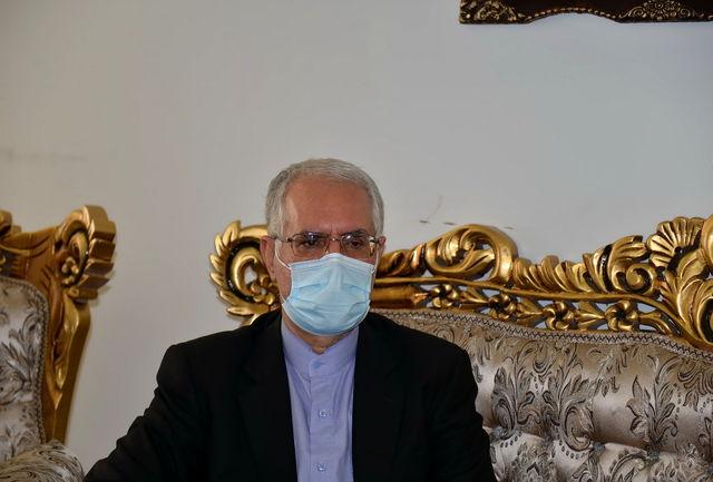 سفیر جدید جمهوری اسلامی ایران در قطر با سلطانیفر دیدار کرد