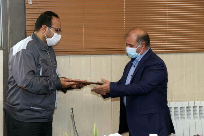 صدور پروانه فعالیت مرکز کارآموزی بین کارگاهی شرکت خالص سازان روی زنجان