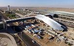 سقوط هواپیما در فرودگاه بین المللی  امام خمینی