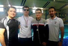 درخشش شناگران کردستانی در رقابت های قهرمانی نابینایان کشور