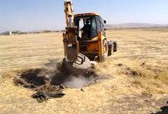 پلمپ 35 حلقه چاه غیر مجاز در استان فارس