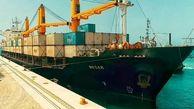 پهلوگیری دهمین کشتی حامل گندم اهدایی هند به افغانستان در بندر چابهار