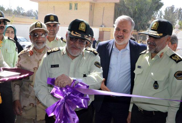 مجموعه ورزشی نیروی انتظامی سیستان و بلوچستان افتتاح شد