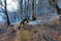 مهار آتش سوزی در جنگلهای 9 شهرستان گیلان
