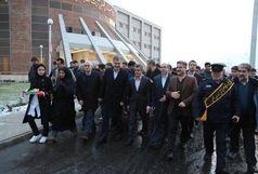 آغاز عملیات احداث همراه سرای بیمارستان آیت الله هاشمی شیروان