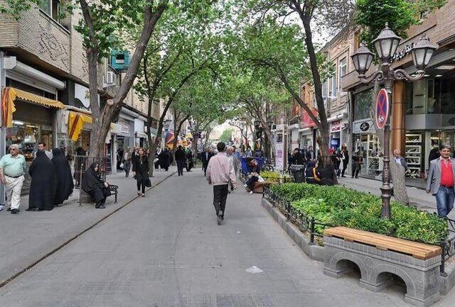 خیابان مدرس کرمانشاه پیاده راه میشود