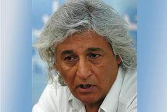 مراسم تشییع پیکر فرج حیدری از مقابل خانه سینما