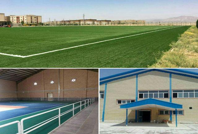 افتتاح 2سالن ورزشی و یک زمین چمن مصنوعی در ورامین و پاکدشت