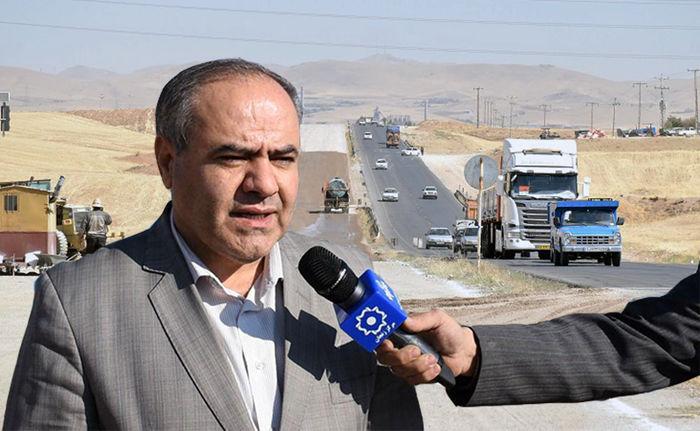 در سال جاری پروژه 4 خطه کردن محور زنجان- بیجار به بهره برداری می رسد