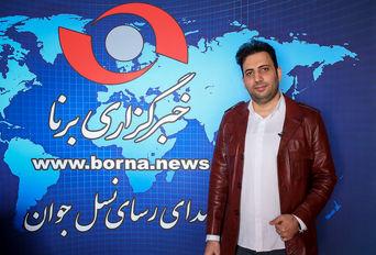 حضور محمد بابایی در خبرگزاری برنا