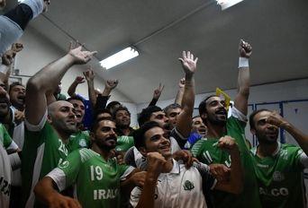 دیدار تیم های فوتسال آلومینیوم اراک - شهرداری قزوین