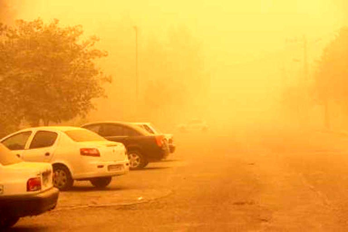 افزایش غلظت غبار در استان همدان طی ساعات آینده