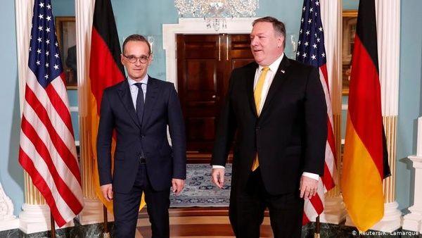 گفتوگوی تلفنی وزرای خارجه آلمان و آمریکا درباره ایران