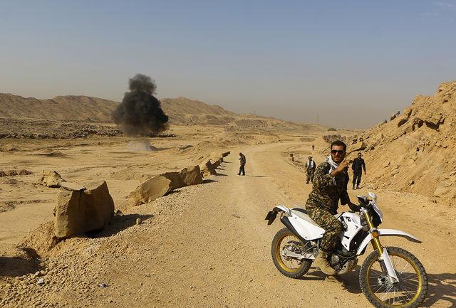 برگزاری رزمایش صحرایی تیپ 316 زرهی شهید قهرمان همدان