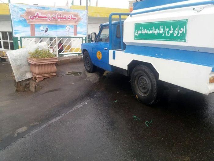 تشکیل ستاد عملیات زمستانی در تمامی مناطق دهگانه تبریز