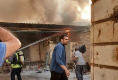 روز پر حادثه اهواز /تلاش آتش نشانان برای مهار ۶ آتش سوزی مسکونی