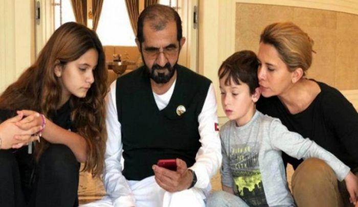 زن حاکم دبی، پیشنهاد شوهرش برای بازگرداندن فرزندانشان را رد کرد