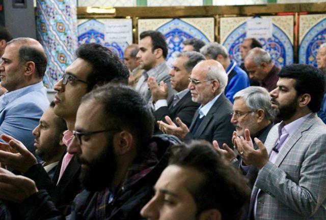 دیدار مردمی استاندار بامردم شهرری در مسجد جامع ارشاد