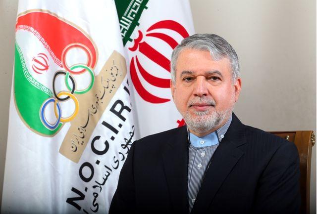 نامه سیدرضا صالحی امیری به کمیته بین المللی المپیک در مورد طرح ملی نشاط