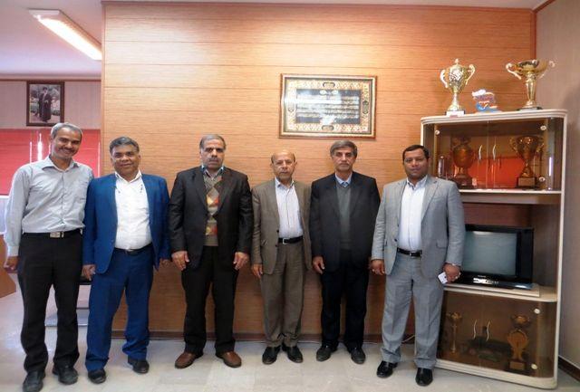 دیدار رئیس فدراسیون کبدی با مدیرکل ورزش وجوانان استان هرمزگان