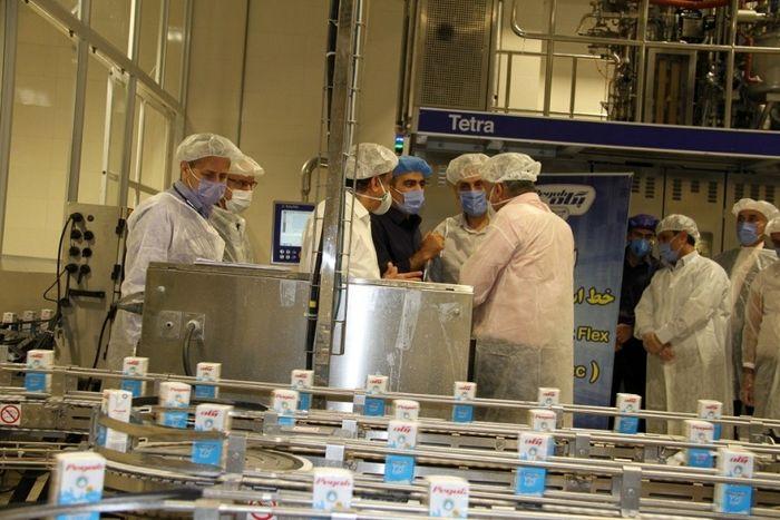 عبور از تحریمها در شرکت صنایع شیر ایران