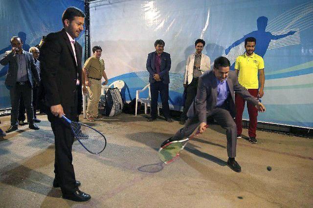 برپایی جزیره ورزش در نمایشگاه فناوری های نوین شهری