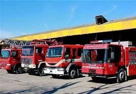 آمادگی آتش نشانی اصفهان در مسیر راهپیمایی ۲۲ بهمن