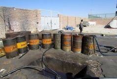 دپوی 100 هزار لیتر سوخت قاچاق در میناب لو رفت
