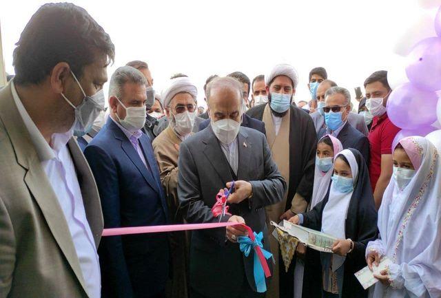 سالن ورزشی روستای جوخواه در شهرستان طبس افتتاح و به بهره برداری رسید