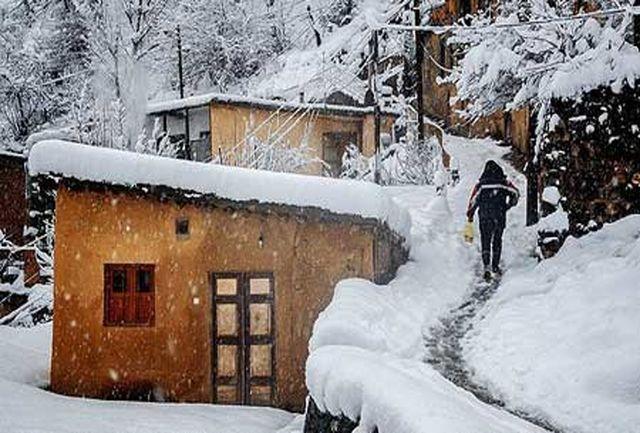 بارش برف و باران در گیلان