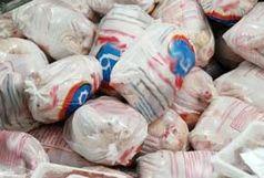 توزیع بیش از ۱۹۰۰ تن گوشت مرغ منجمد در آذربایجانغربی