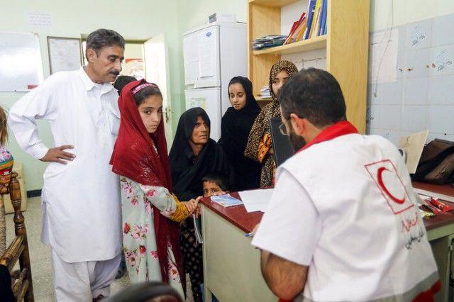 اقدامات سازمان امداد و نجات جمعیت هلال احمر برای اربعین ۹۸