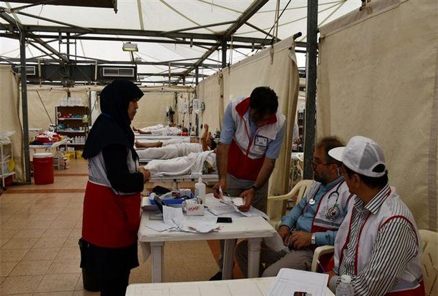 فعالیت شبانه روزی پزشکان ایرانی دربیمارستان صحرایی منا