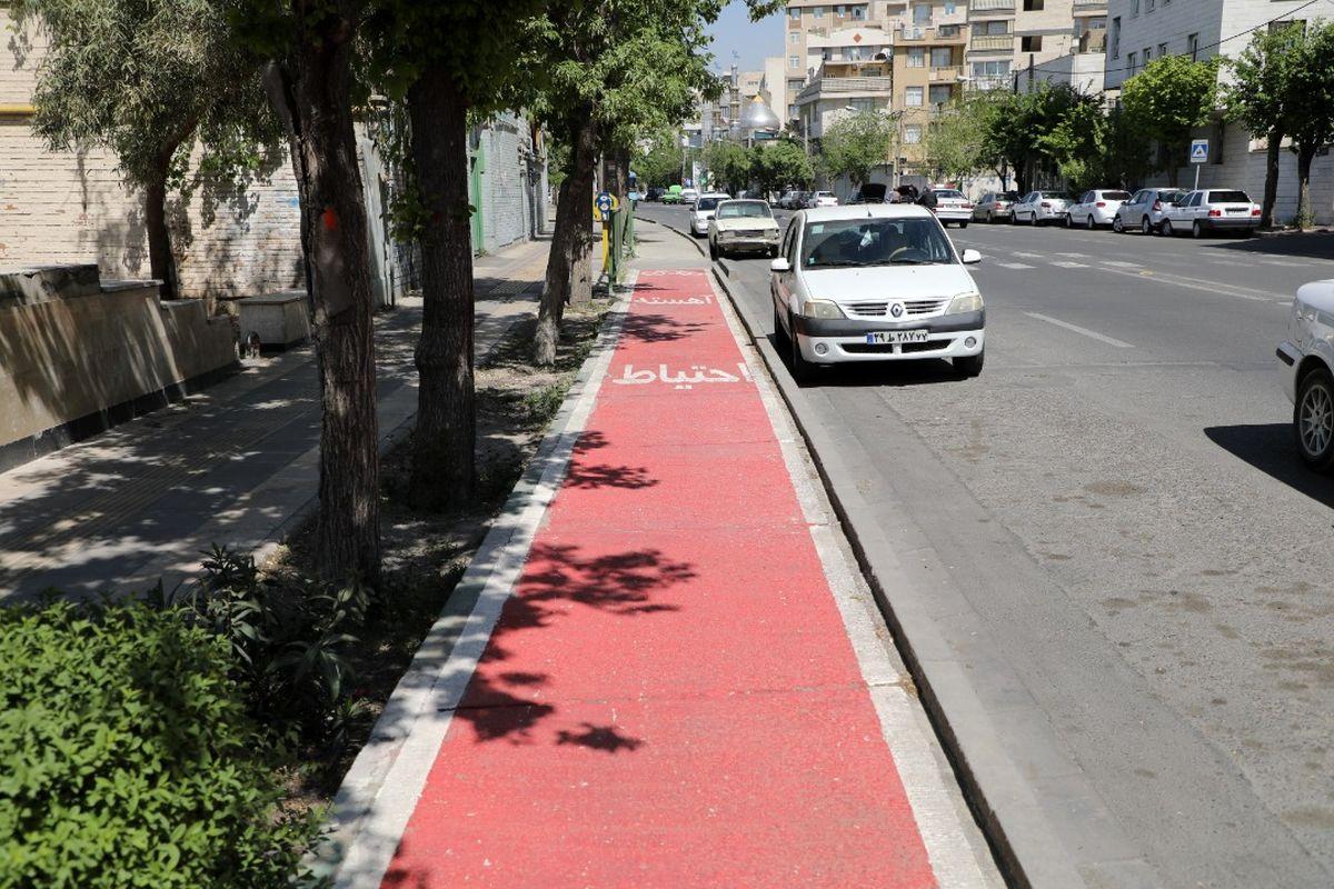 مسیرهای ویژه دوچرخه در منطقه 19 از مرز 18 کیلومتر عبور کرد
