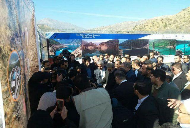 نیروگاه برقآبی 150 مگاواتی سردشت افتتاح شد