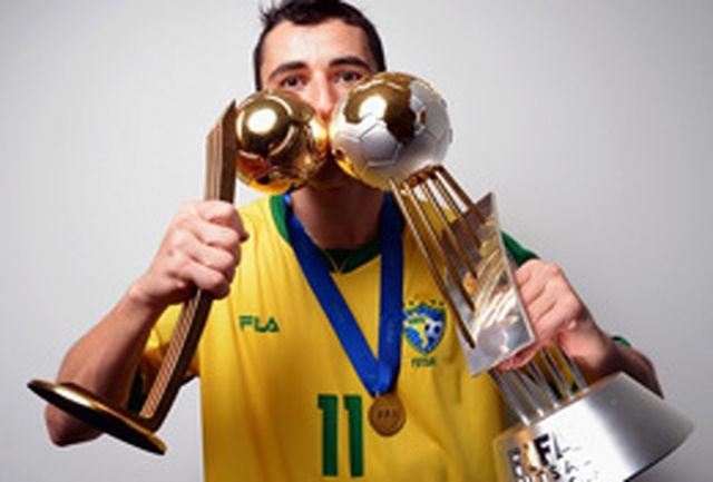 نتو، بهترین بازیکن جام جهانی فوتسال/ دستکش طلایی به دروازهبان ایتالیا رسید