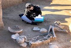 کشف گور با قدمتی 3 هزار ساله