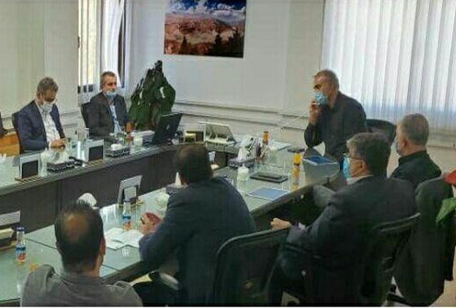 دومین جلسه هم اندیشی و تعامل گل محمدی با شهردار منطقه 4 تهران