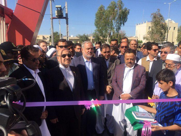 افتتاح 6 زمین چمن مصنوعی مینی فوتبال در روستاهای سیستان و بلوچستان
