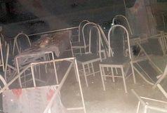 شعلههای آتش تالار عروسی را به کام خود کشاند + فیلم