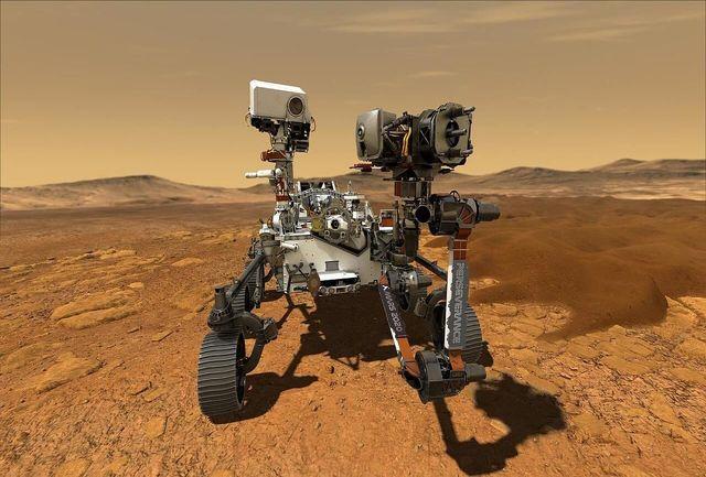 بایدن در حال تماشاى لحظه فرودآمدن کاوشگر «استقامت» بر سطح سیاره مریخ