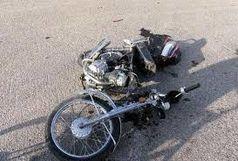 برخورد موتورسیکلت با پراید منجر به مرگ شد