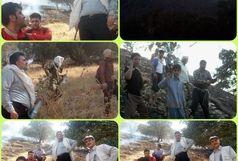 بازداشت عاملان آتش سوزی شهرستان چگنی