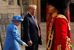 چرا ترامپ با ملکه بدرفتاری کرد؟