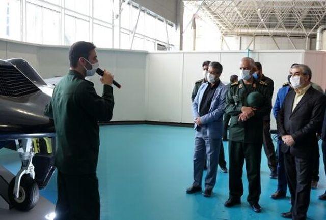 اعضای شورای نگهبان از نمایشگاه دستاوردهای هوافضای سپاه بازدید کردند