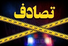 تصادف خسارتی در بزرگراه امام علی (ع) تهران