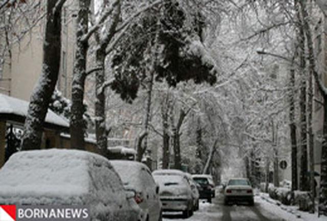 ادامه بارش برف در پایتخت تا امشب