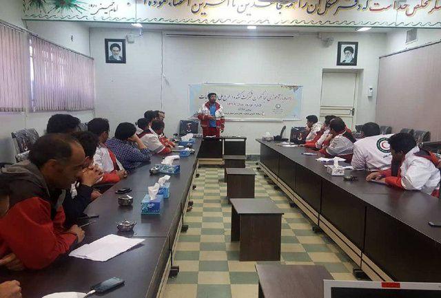 برگزاری دوره بازآموزی طرح امداد و نجات نوروزی در لرستان