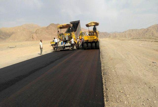 عملیات اجرایی آسفالت جاده جایگزین سد چندیر 40 درصد پیش رفت