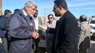بازدید فرماندار شهرستان نهبندان از 4 روستای بخش مرکزی